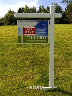 10 -18x24 Aluminum Real Estate Signs Jobsite Advertise Free Design Free Shipping