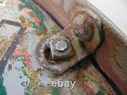 24 Old Vintage Original Kendall Motor Oils Sign Double Sided Enamel Sign Ring