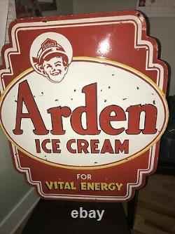Arden Ice Cream Double Sided Hanging Sign