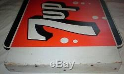 Beautiful & Graphic 1964 Double Sided Flange Sign. Look