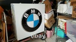 Bmw Dealership Signage - Double Sided. As seen on Hoarders