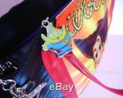 Disney Harvey's SIGNED Toy Story Buzz & Woody Double Sided Tote Handbag NWT