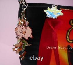 Disney Harvey's SIGNED Toy Story One Buzz & Woody Double Sided Tote Handbag NWT