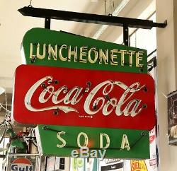 Double Sided Coca Cola Neon Sign