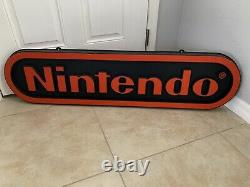Double Sided Nintendo M17A Vacuum Form Store Display Sign