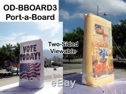 Giant Inflatable 12ft Indoor and Outdoor Advertising Display Billboard Sign