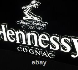 Hennessy Double Sided Led Bar Sign Cognac Liquor