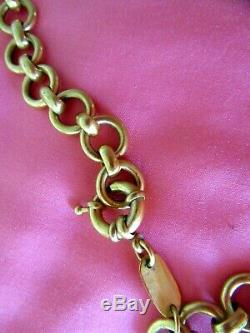 JULIE VOS Signed Santorini Station Necklace Double Sided Labradorite 42 x 1/2