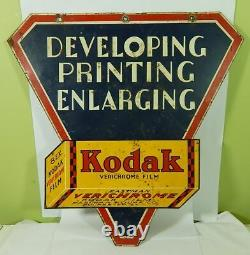 Kodak Verichrome Double Sided Sign 17 x 17 Inches