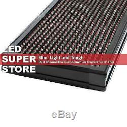 LED SUPER STORE 3C/RGY/IR/2F 15x40 Programmable Scroll. Message Display Sign