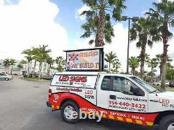 LED Sign Outdoor RGB-DIP, Full Color-Two Sided Digital Sign 19x25 -U. S FACTORY