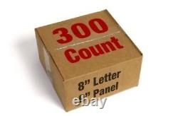 NEW 96 x 40 Portable Economy Lighted Roadside Reader Board Sign + Letter Set