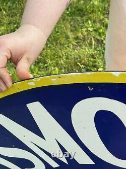 Oldsmobile Service DOUBLE sided porcelain enamel sign! HUGE
