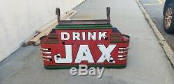 Original Double Sided Jax Beer Porcelain Neon Sign