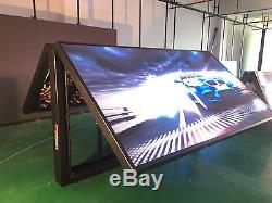 P8 series 52 X 102 (4x8) double sided programmable full color outdoor led sign