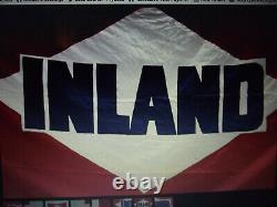 Rare Inland Steel Ore Ship Flag, Great Lakes Ship, Ore Ship, Laker, Double Sided