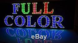 Sale WiFi LED Sign Display Double Sided Full Color DIP Outdoor/Indoor 25 X 50