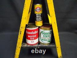 Service/Gas Station CASITE Motor Oil Additive Double-Sided DISPLAY RACK w Cans