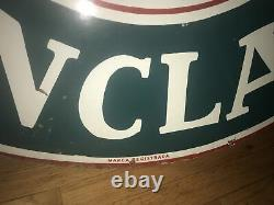 Sinclair oil 48 Double Sided Porcelain Sign