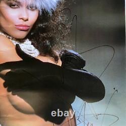 VANITY Skin On Skin 1986 Motown Signed Double-Sided Poster Denise Matthews