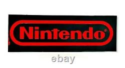 Vintage 80s-90s WE HAVE NINTENDO Double Sided Store Display Sign NES 3 FT 6.5