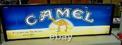 Vintage Cigarette Double Sided Lighted Sign SALEM and CAMEL Big 49 x 15 SALE