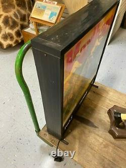 Vintage Marlboro Double-sided Electric Light Up Sign