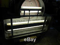 Vtg. General Electric GE Appliances Television Outdoor Double Sided Lighted Sign