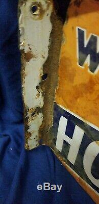 1920 Double Face Flandge Signe Tabac Horse Shoe