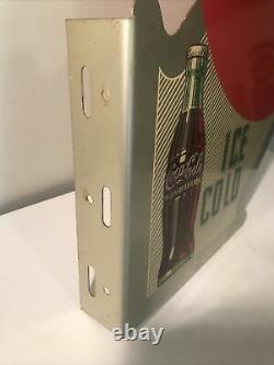 1951 Panneau De Bride Coca Cola À Double Bord