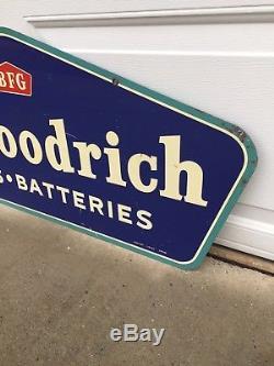 1961 B F Goodrich Pneus Et Batteries Panneau Double Face 42 Am 61 Nice