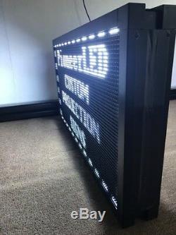 40''x20 ' ' Bilaterale Led Projection Connexion Affichage Programmable Retour À Retour