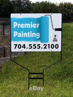 5 -18x24 Aluminium Signes Immobilier Jobsite Publicité Free Design Livraison Gratuite