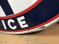Aaa Urgency Service Bague Double En Alun Signée Porcelaine Des Années 1950