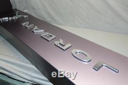 Air Jordan Jumpman 49x10 Store Display Luminaire Double Face En Aluminium