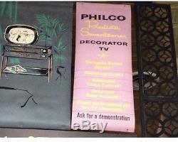 Au Milieu Des Années 1950, Philco Predicta, Enseigne Publicitaire Double