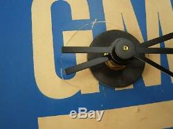Belle Horloge Originale Gm General Motors Chevrolet Publicité Double Face
