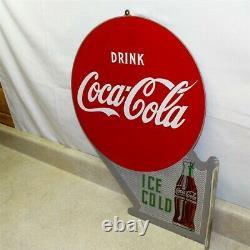 Boissons Anciennes Coca-cola, Plaque De Bride À Double Face À Froid, Métal, A-m 4-51
