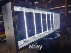 Double Face Extérieure Led Lightbox Sign, Signes, Rétroéclairage 24 X 48 X 10'