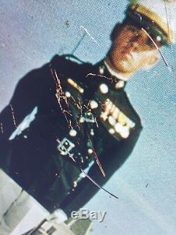 Enseigne Double Face En Métal D'époque Vietnamienne Marine Corps Recruitment