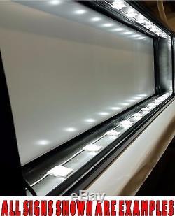 Enseigne Lumineuse De 4 Pi X 6 Pi À Del, Double Face Entièrement Construite