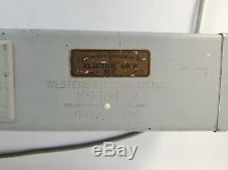 Enseigne Lumineuse Double Face À Cabine Téléphonique Suspendue Vintage De Western Electric 19