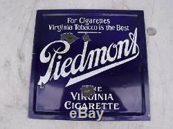 Essence À Double Face En Porcelaine Piedmont Virginia Cigarette Tobacco Gas Oil