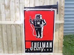 Fuelman Fleet Card Double Panneau Latéral Avec Support Suspendu