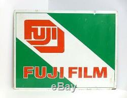 Fuji Film Double Face Affichage Hanging Publicité Connexion 16x 20