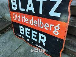 Grand Blatz Original Bière Double Face Signe