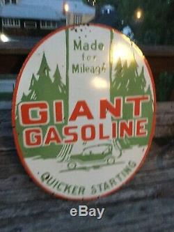 Grand Essence Géant Double Face Porcelaine Signe