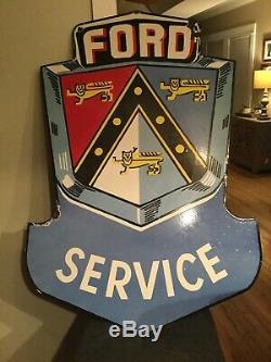 Grand Service Ford Double Face En Porcelaine Connexion