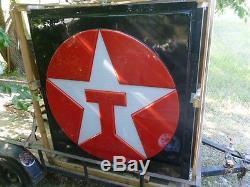 Grand Signature Texaco Star Nos Nouvelle Caisse Double En Caisse