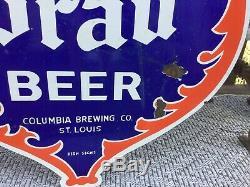 Grande Enseigne Double Face À Bière Alpen